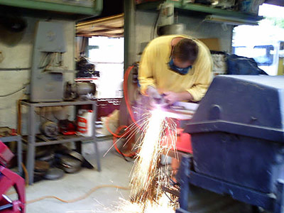 plasma cutting main hole
