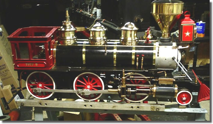 LuLu II Little engines Mogul Locomotive