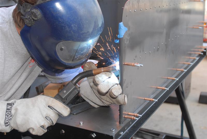 welding end caps