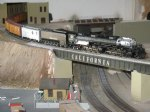 Picture Title - Charlie G's bigboy at california southern model railroad club.