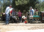 "Picture Title - City Commissioners attend first annual ""Golden Spike Day"""