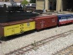 Picture Title - Tom Downings freight cars