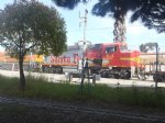 Picture Title - BNSF #1303 Locomotive Model 3GS21C northbound @ SCLS with #154 Warbonnet