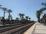 Picture Title - BNSF 7353 Lead for Stack Train - Fullerton Station