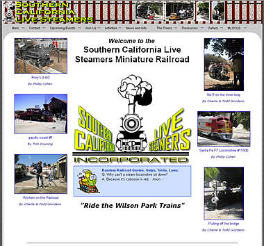 Southern California Live Steamers, Torrance, CA